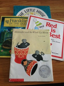 Well-worn picture books from my personal library